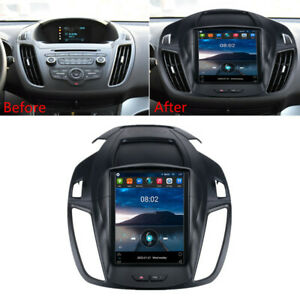 """For 2013-2018 Ford Escape Kuga 9.7"""" Vertical Android 10.0 Radio Stereo Head Unit"""