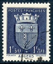 STAMP / TIMBRE FRANCE OBLITERE N° 558  BLASON / ANGERS