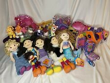 70+ Piece HUGE Groovy Girl Lot Moxie Dolls Furniture Scooter Pet Dog Cat Clothes