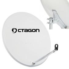 Octagon 65cm Satelliten Antenne Spiegel Satellitenschüssel Hell