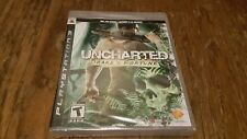 "PS3 Uncharted: Drake's Fortune - Black Label ""Not for Resale"" Variant ***NEW***"