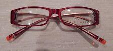 Norma Kamali 7252 Ruby 52/15 Ladies Eyeglass Frame NOS #238