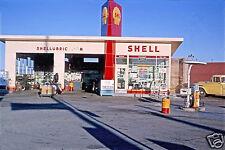 5x7 SHELL GAS STATION SHELLUBE PEPSI CANDY MACHINE LUBE RACK CHEVY APACHE TRUCK