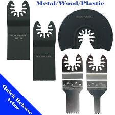 5 Saw Blade Oscillating Multi Tool Porter Cable Fein Multimaster Bosch Ridgid