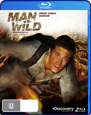 MAN VS WILD - URBAN JUNGLE WARRIOR BLU RAY, 2 DISC SET, NEW & SEALED FREE POST!