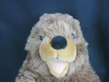 BIG BUILD A BEAR Groundhog Ground Hog SHAGGY LOVEY FOREST PLUSH STUFFED ANIMAL