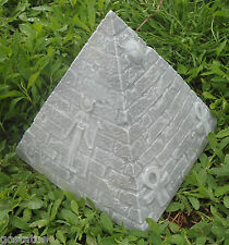 "Pyramid mold plaster concrete mould mold 6"" x 6"" x 6.5""H"