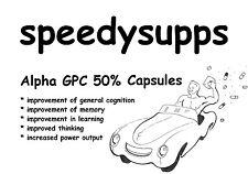 Alpha GPC 300mg x 30 VEGGIE CAPSULES 50% Powder Choline Alphoscerate pill