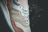 """New Balance Made In USA 997 """"Coastal Pack"""" (White/Pink) M997LBH Mens Shoes SZ 10"""
