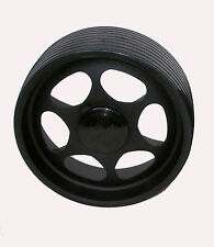 Relaxt Rear Wheel -  One PU Cross Hub - Golf Buggy Rear Wheel