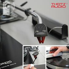 Registro Anti-estática cepillo de fibra de carbono y Stylus Cepillo-Limpieza de placa giratoria