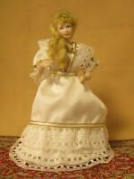 Doll House Miniature Doll 1:12 scale Woman artisan hand made beauty blond