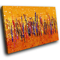 AB457 Colourful Retro Cool Modern Abstract Canvas Wall Art Large Picture Prints