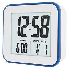 Acctim 15012 Knox Digital White Alarm Clock (OUR REF2ROBP)