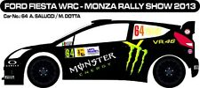 DECALS 1/43 FORD FIESTA WRC - #64 - SALUCCI - MONZA RALLY SHOW 2013 - D43264