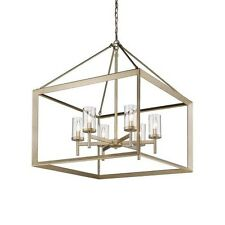Ginsberg 6 light candle-style chandelier