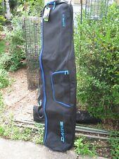 NOS Dakine Mt Hood Snowboard Bag Black/Blue Freestyle 165 cm Glacier W14 NWT