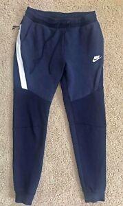 Nike Sportswear Tech Fleece Pants Size Small Dark Blue