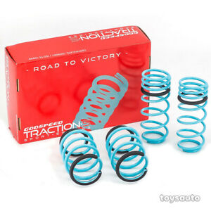 "Godspeed Tractions-S Lowering Drop Spring 1.4""/1.3"" for Kia Forte YD Koup 14-18"