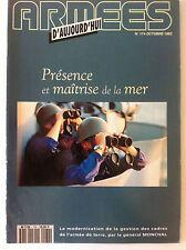 Armées d'Aujourd'hui n°174 de 10/1992; Présence et maîtrise de la mer