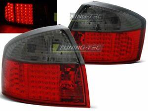 NEUF Feux arrières pour AUDI A4 B6 2000-2004 Rouge Fumée LED FR LDAU80-ED XINO F