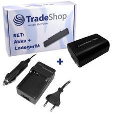 AKKU + LADEGERÄT für SONY HDR-XR500 HDR-XR500VE XR-500
