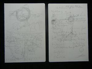 Joseph Beuys Granolithographie 1975 aus Codices Madrid -  Motiv 04