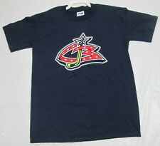 Columbus Blue Jackets Youth T-Shirt Nash Majestic Medium 100% Cotton NHL Hockey