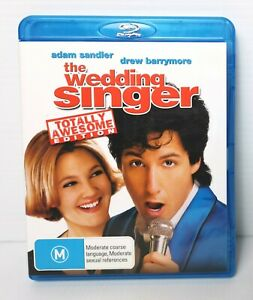 The Wedding Singer - Adam Sandler, Drew Barrymore - Blu-ray*FREE POSTAGE