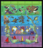 1994 Sea Life SG296a Sheetlet Cocos Keeling Islands Set Mint Stamps Australia