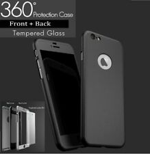 Hybrid 360° New Shockproof Case PC Cover Skin Cover For Apple iPhone 7  Black
