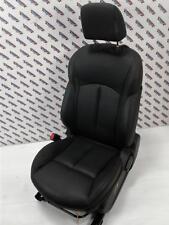 2015 NISSAN JUKE F15 Left Passenger Side Black Leather Front Seat Facelift 14-17