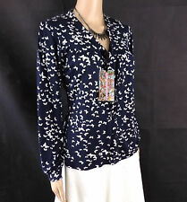 M&Co V Neck Waist Length Petite Tops & Shirts for Women