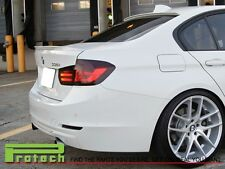 2012-2014 BMW F30 AC Look UNPAINTED Roof Lip Spoiler Wing  320i 328i 335i 4Dr