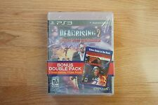 NIB! Dead Rising 2 + Devil May Cry 4 - Bonus Double Pack PS3 Two Game Pack Lot