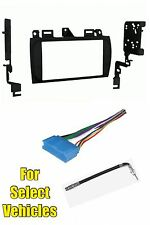 Cadillac Double Din Car Stereo Radio Install Dash Trim Face Mount Kit Combo