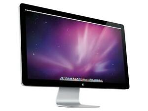 "Apple A1316 Cinema HD Display 27"" in Widescreen LED Monitor Good Condition"