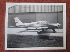 PHOTO AVION AIRCRAFT PIPER COMANCHE G-ARIE GREGORY AIR TAXIS
