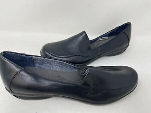 NEW! Dr Scholl's Women's Turner Slip On Comfort Casual Loafers Black 70J r