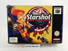 STARSHOT SPACE CIRCUS FEVER NINTENDO 64 N64 BIT PAL EUR ITA ITALIANO ORIGINALE