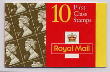 GB 1997 10 x 1st Classe Royal Golden wedding Barcode brochure HD42 9 mm Band
