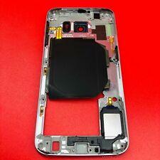 ORIGINAL Samsung Galaxy S6 Metal Frame Bezel Housing Replacement G920 Black Gray