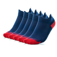 Higher State Unisex Freedom Running Socklet Five Pack Blue Sports Breathable