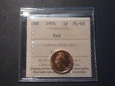 Canada 1-cent 1974 ICCS PL-65