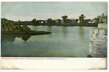 Schenectady, New York,  Early View of Mohawk River from Glenville Bridge