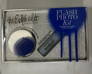 THE ESTEE EDIT BY ESTEE LAUDER FLASH PHOTO KIT POWDER & GLOSS BRAND NEW