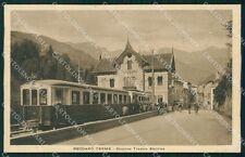 Vicenza Recoaro Terme Stazione Treno cartolina QT2610