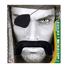 Pirate Moustache / Eyepatch Disguise Novelty Fake False Moustaches Beards -