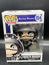 Funko Marilyn Manson Pop! Vinyl Figure #154 Mint Brand New Case Fresh