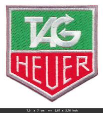 TAG HEUER Aufnäher Aufbügler Patches Racing Team Motorsport F1 BLITZVERSAND